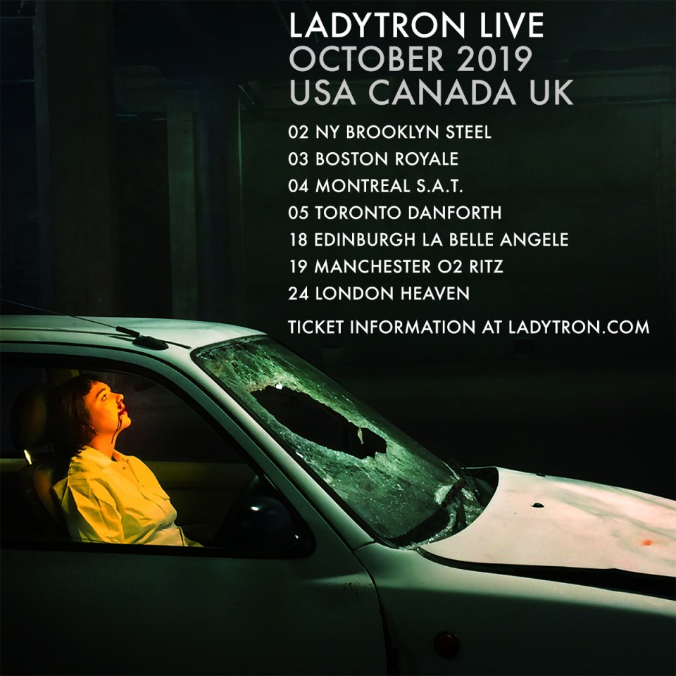 Ladytron Oct Tour Flyer